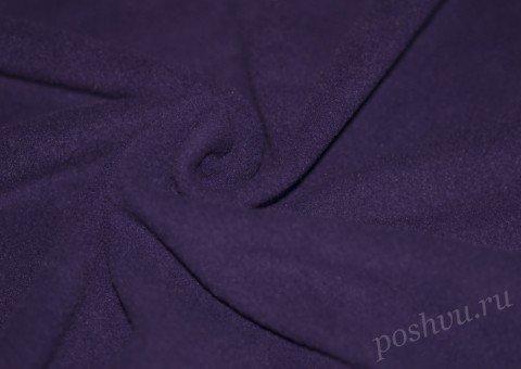 Флис однотонный фиолетового цвета 190гр/м