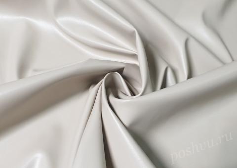 Ткань экокожа бежевого цвета