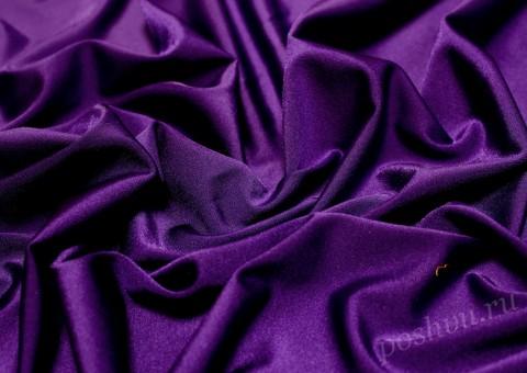 Ткань бифлекс Аметистовая россыпь