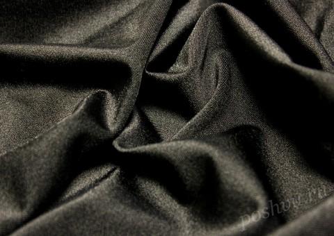 Ткань бифлекс черная