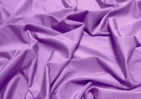 Ткань бифлекс сиреневого оттенка