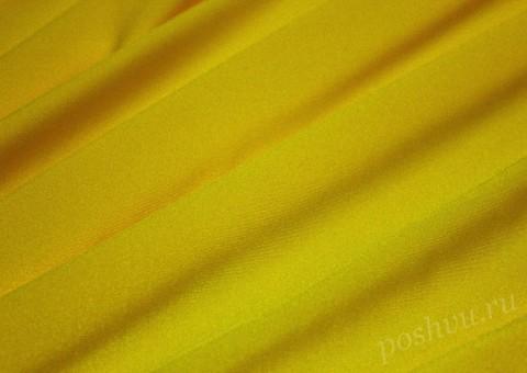 Ткань бифлекс ярко желтый