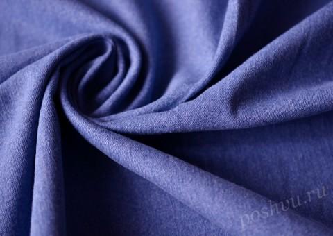 Джинсовая ткань синего цвета