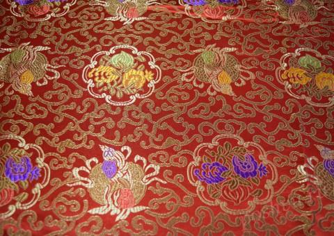 Шелковая ткань Визирь