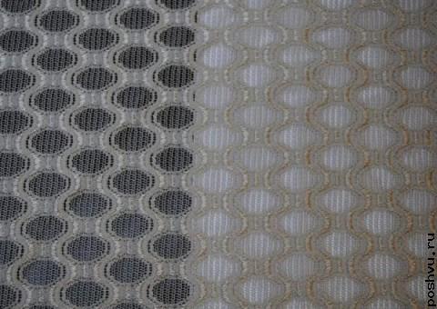 Ткань гипюр кремовый Таинственная незнакомка