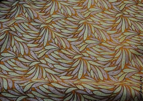 Хлопковая ткань ситец Покрывало листвы
