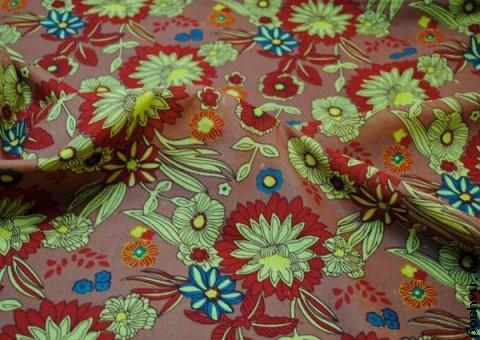 Хлопковая ткань ситец Зачарованый сад