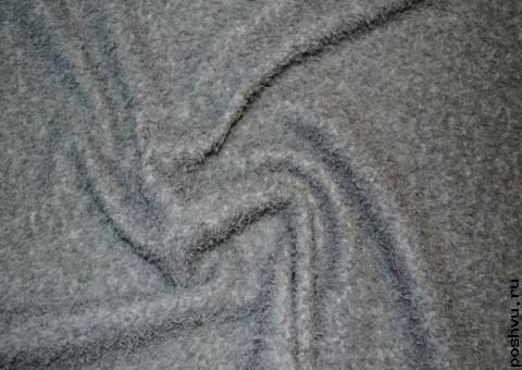 Ткань искусственый мех Серая шейка