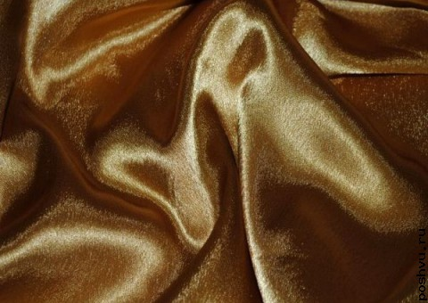 Ткань креп-сатин Альстромерия