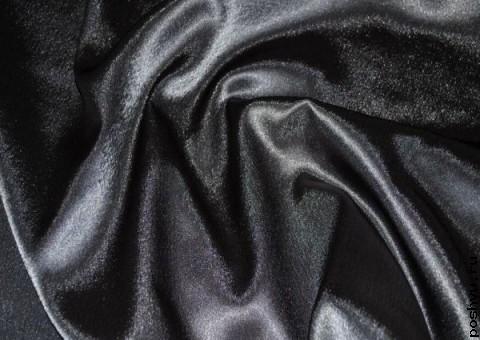Ткань креп-сатин Черное золото