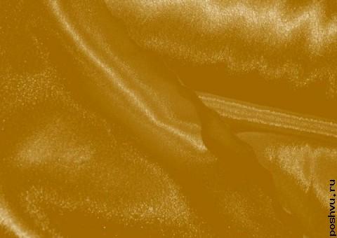 Ткань креп-сатин Золото принцессы