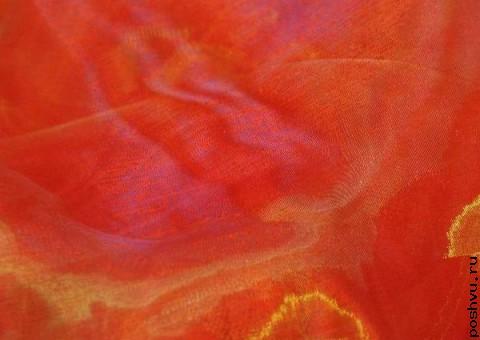 Ткань органза Пряности востока
