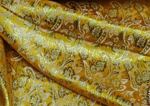 Ткань парча росписная Мечта султана