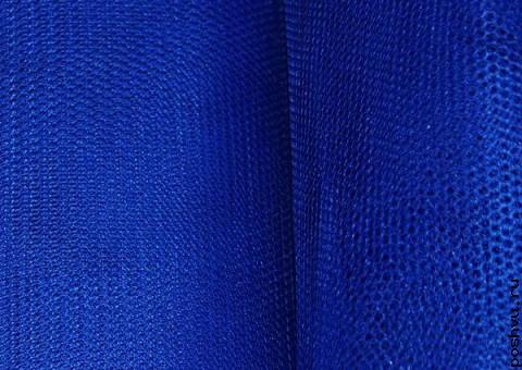 Ткань сетка Индейская лазурь