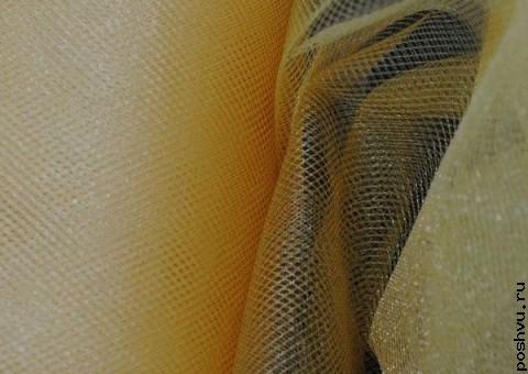 Ткань сетка Золушка