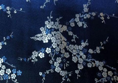Шелковая ткань Любование сакурой