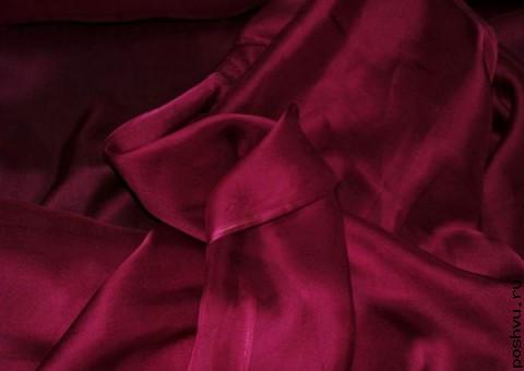 Ткань шелковый шифон Будуар
