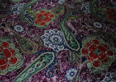 Ткань шелковый шифон Дворец султана