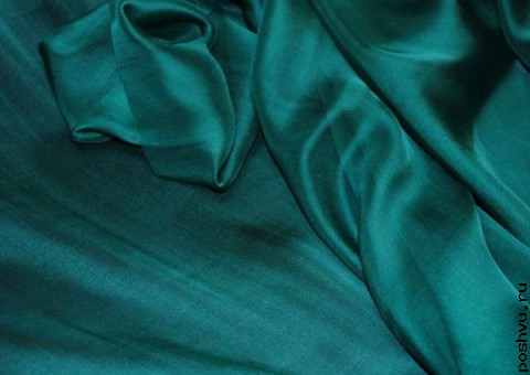 Ткань шелковый шифон Каменная чаша