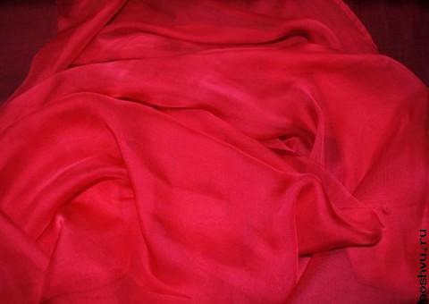 Ткань шелковый шифон Торреро