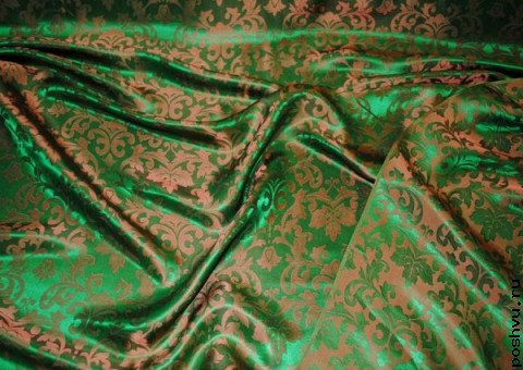 Ткань шелковый жаккард Агра