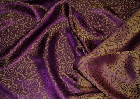 Ткань шелковый жаккард Бангалор