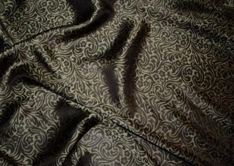 Ткань шелковый жаккард Калькутта