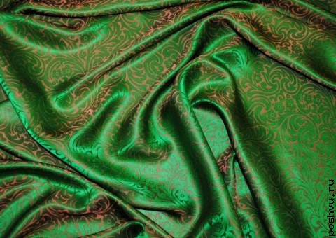 Ткань шелковый жаккард Майсур