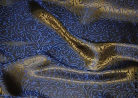 Ткань шелковый жаккард Мумбаи