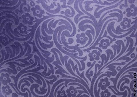Ткань шелковый жаккард Ночной Дели