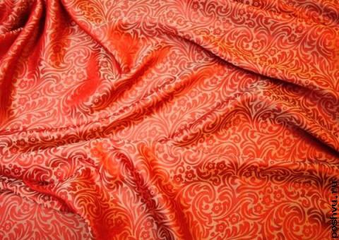 Ткань шелковый жаккард Тадж Махал