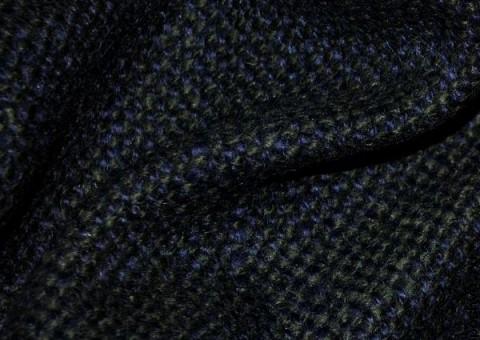 Шерстяная ткань твид Двойной эффект