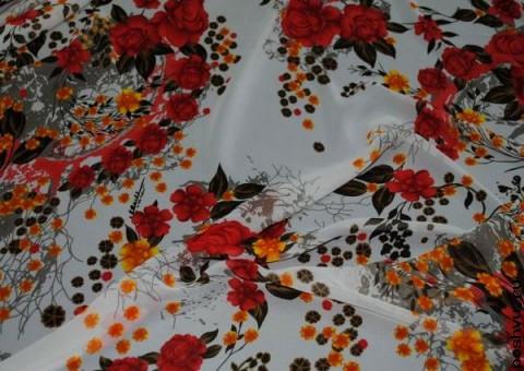 Ткань шифон Пора цветения