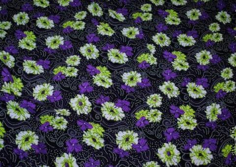 Ткань цветная Цветок попоротника