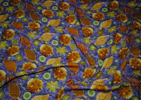 Ткань цветная Первый день осени