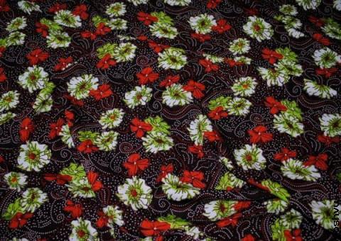 Ткань цветная Тысяча цветов