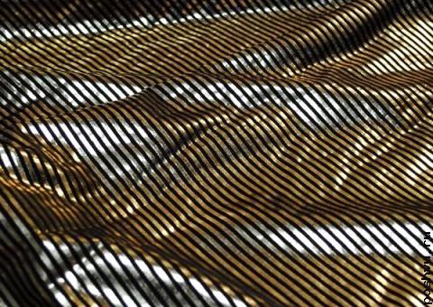 Ткань диско Золото инков