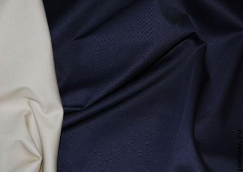 Ткань джинсовая рассвет над морем
