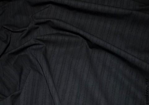 Ткань хлопковая Эбонит