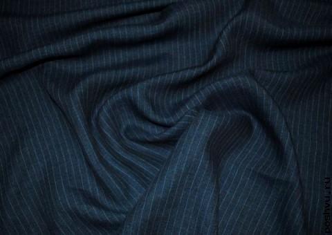 Ткань хлопковая Итальянский джинс