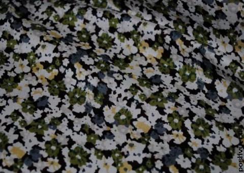 Ткань хлопковая Поле лилий
