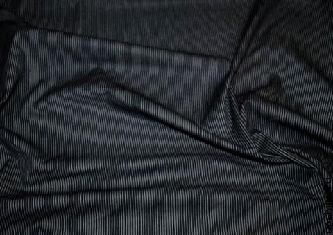 Ткань хлопковая Серая полоска