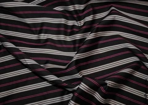 Ткань хлопковая Стильная полоска
