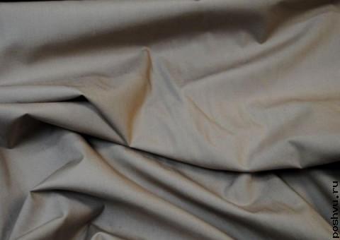 Ткань хлопковая Терракот