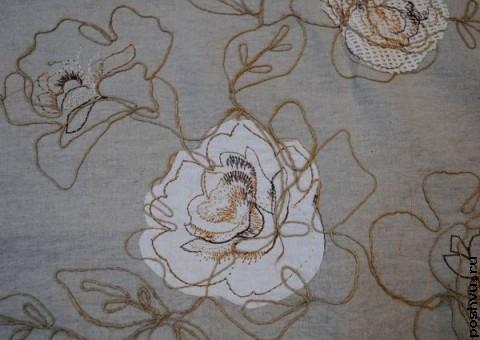 Ткань из льна Графский сад