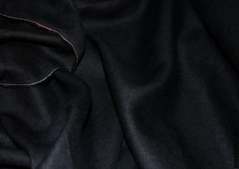 Ткань льняная Пиратский флаг
