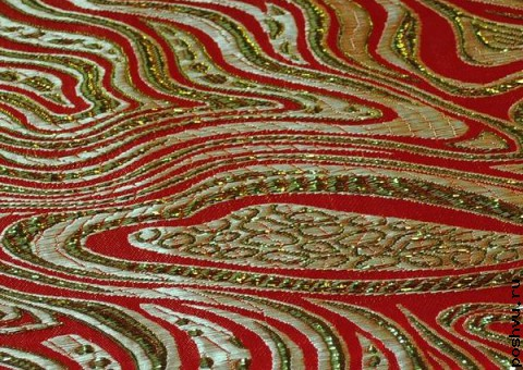 Ткань парчовая Восточный диван