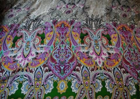 Ткань шелковая Великолепие востока