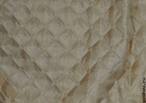 Ткань стеганая для подкладки Мокрый асфальт
