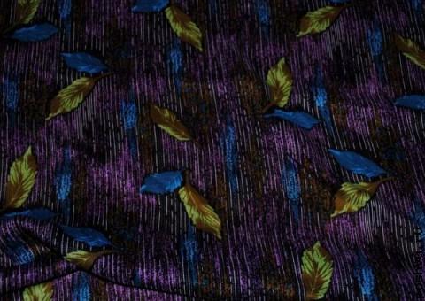 Ткань узорная Осенняя рапсодия